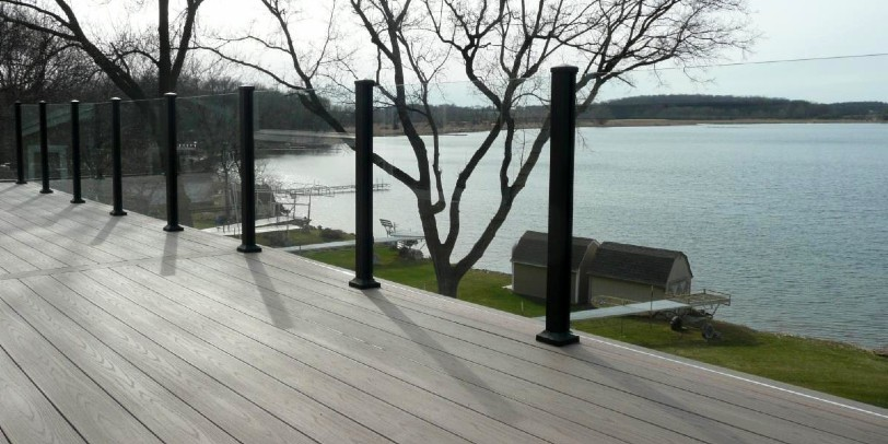 Find out how to install Century Scenic Glass Panel Railing system today!
