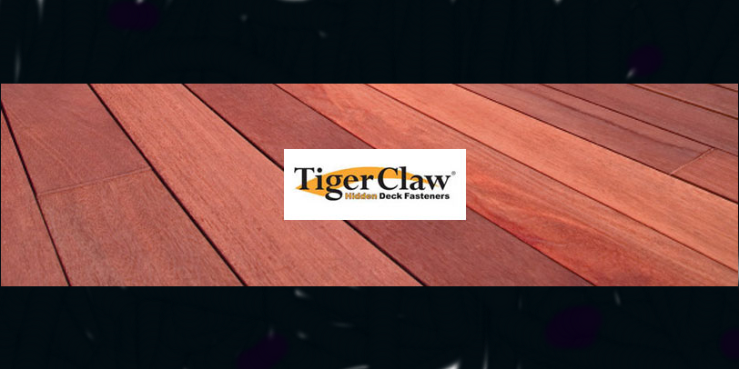 Learn why Tiger Claw Hidden Deck Board Fasteners are the #1 builder choice!
