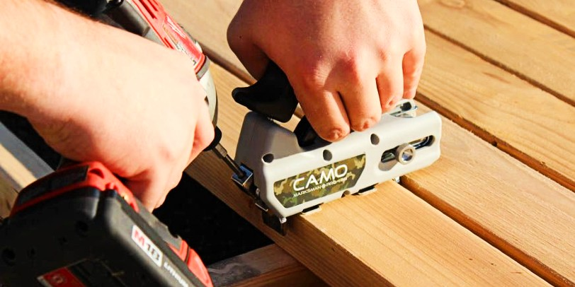 Find the right CAMO screw for your deck board