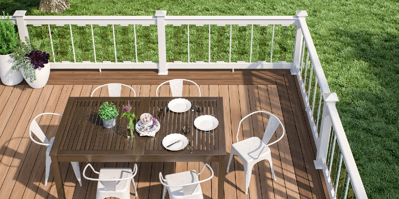 What the Difference is Between a Porch, Patio and Deck?