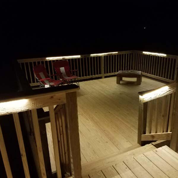 Deck Lighting Image Gallery Decksdirect