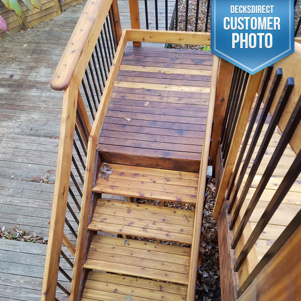 Deck Baluster Image Gallery - Face Mount Balusters ...
