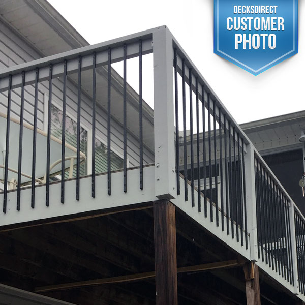 Deck Baluster Image Gallery Face Mount Balusters