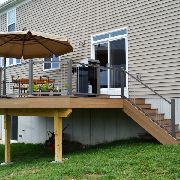 KeyLink Cable Railing Image Gallery - DecksDirect