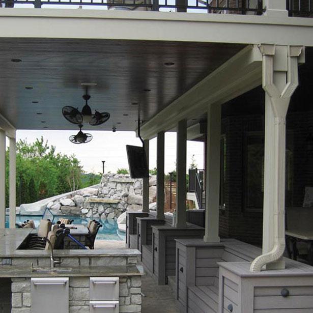 Trex Rainescape Deck Drainage Image Gallery Decksdirect