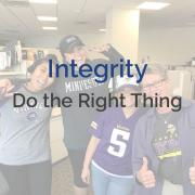 Integrity - Do the Right Thing
