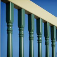 Illusions Vinyl Railing Colonial Spindle Balusters