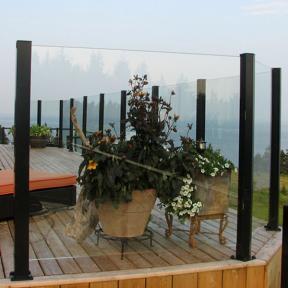 Century Scenic Glass Railing System