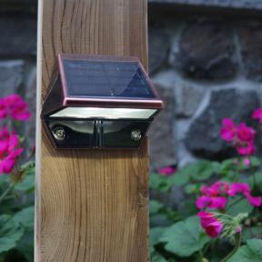 Solar Rail Light by Classy Caps