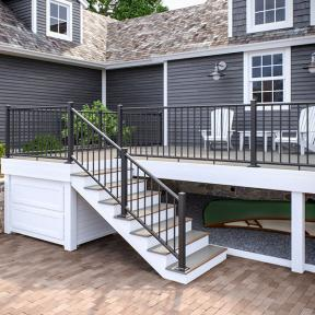 Deckorators ALX Classic Railing with Frontier Ridgeway decking
