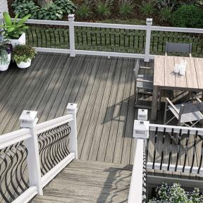 Browse through the best composite decking options such as Trex, Deckorators and DuraLife