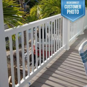 Durables Brighton Classic Vinyl Railing