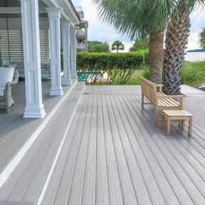 Choose building materials that will endure and last as long as your home does with the incredibly beautiful and strong Genovations PVC decking line.