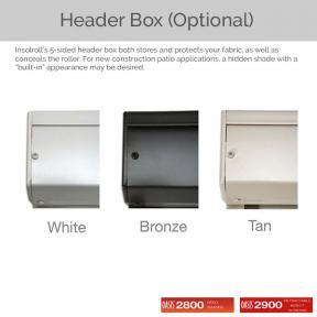 Oasis 2800 and 2900 - Optional Header Box