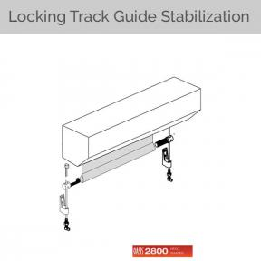 Oasis 2800 - Locking Cable Guide Stabilization