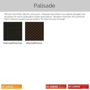 Oasis 2600, 2800, and 2900 - Palisade Fabric Colors