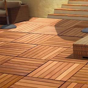 IPE Oil Hardwood Deck Finish by DeckWise on Deck Tiles