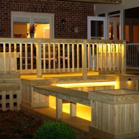 The Odyssey LED Strip Light by Aurora Deck Lighting