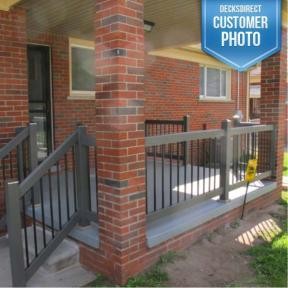 Solutions Round Aluminum Balusters