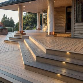 DeckLites LED Riser Light by TimberTech DeckLites