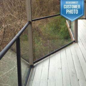 Westbury Veranda Glass Railing