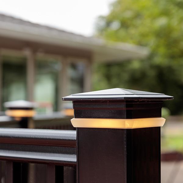 Deck Lighting Image Gallery Timbertech Lighting