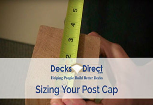 Measure Your Post for a Post Cap