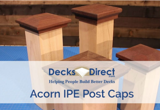 Acorn IPE Post Caps