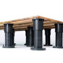 Deck Supports and Pedestals by Bison