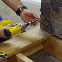 From deck joists to railing brackets, learn the names of different deck and railing components
