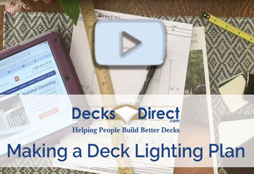 How to Make a Deck Lighting Plan