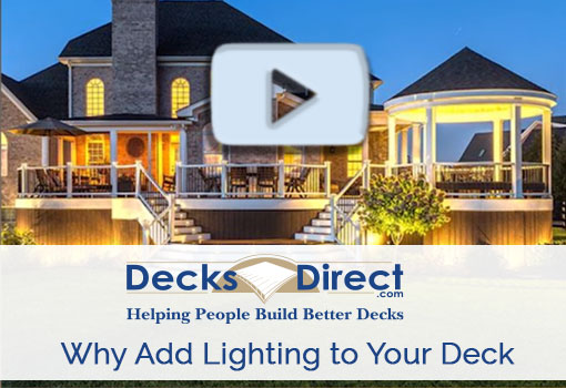 Why Add Low Voltage and Solar Lighting to Your Deck?