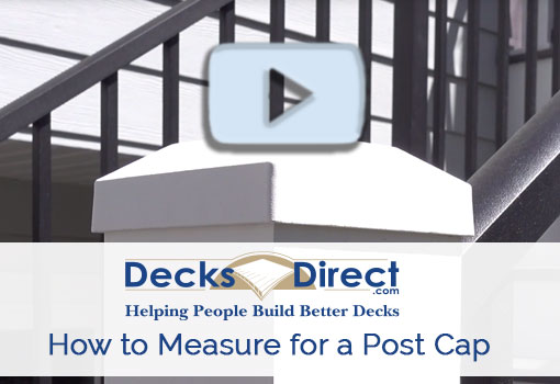 How to Measure For a Post Cap