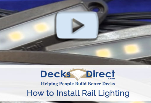 How to Install LED Deck Rail Lighting