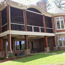 From a three-season screened in porch to an upper level deck protected from bugs, find your perfect deck screen system