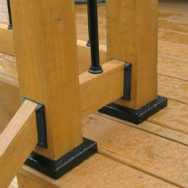 How to Install Titan Deck Post Anchors