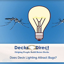 Do Deck Lights Draw In Insects