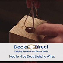 Hiding Deck Lighting Wiring