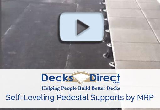 SE Eterno Adjustable Self Leveling Pedestal Supports by MRP