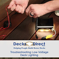 Troubleshooting Deck Lighting