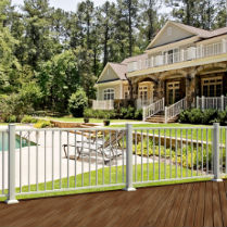 Find the best deck railing system to match your home and style