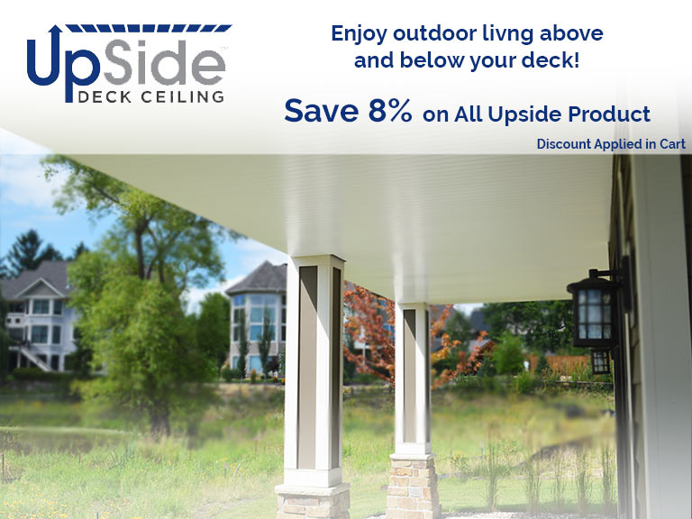 Save 8% on all Upside Products