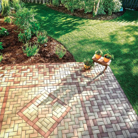 AZEK Pavers are available in a wide array of colors and designs to allow you to resurface any outdoor space and create a unique pattern