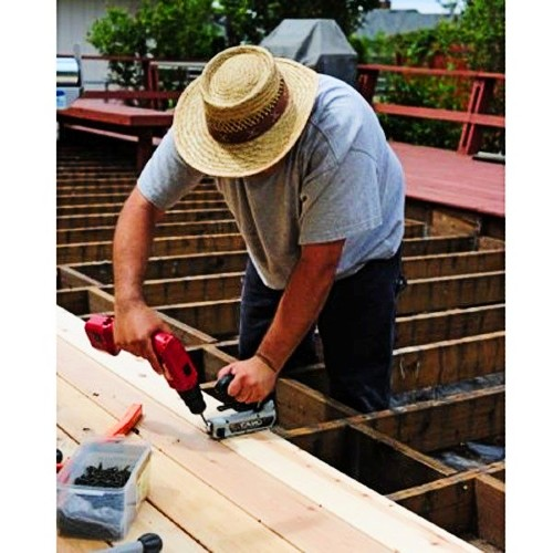 Strong and straightforward, CAMO Stainless Steel Deck Fasteners and CAMO ProTech-Coated Steel Fasteners are a brilliant option for installing deck boards