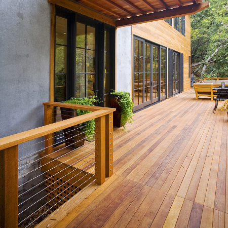 Classic and timeless, Cedar deck boards are a popular decking choice to complete your outdoor space while keeping the costs low