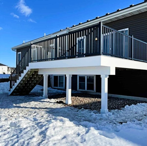 This stunning multi-level deck space has won the Deck of the Month contest for February