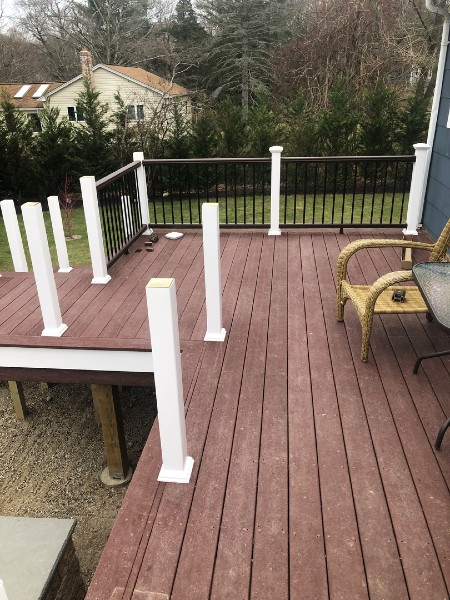 Complete your home's outdoor living space with the incredible Trex Transcend composite railing system in just a weekend