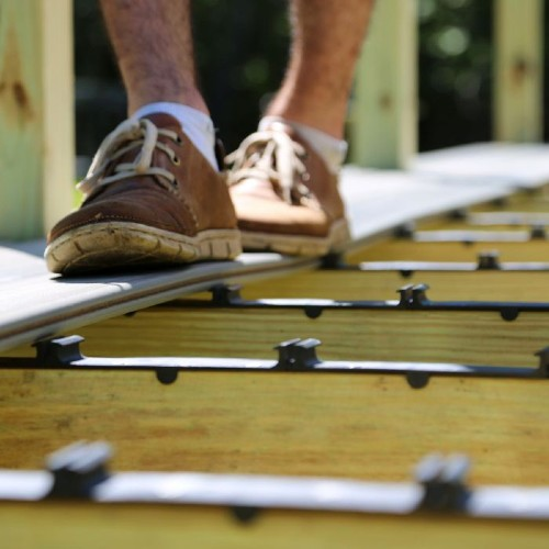 DIY installation of DuraLife composite deck boards has never been easier than with the DuraLife Step-Clip Deck Board Fastener