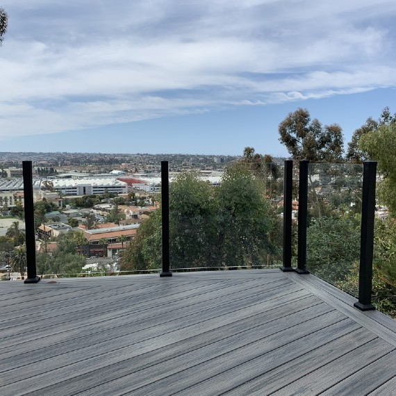 Learn new easy tips on how to clean and maintain your outdoor glass railings whether on your deck or rooftop