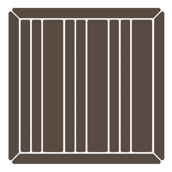 The pinstripe deck board pattern is one of the deck inlay patterns that delivers a sense of style that is completely dependent on the rest of the deck.